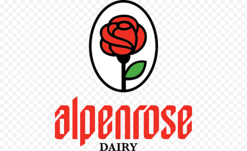 sticker-png-alpenrose-dairy-ice-cream-food-dairy-products-cottage-cheese-ice-cream-food-text-logo-sign